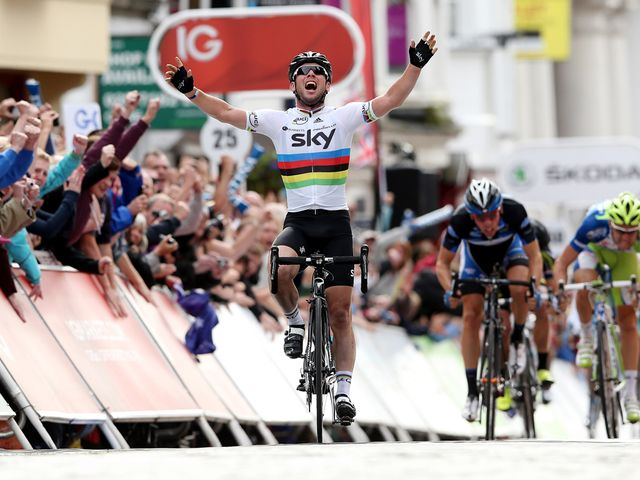 Cavendish: Rounded off home race in style