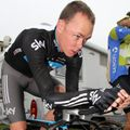 Chris Froome gets in the zone before his final race of the season...