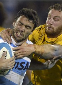Argentina v Australia Martin Landajo Scott Higginbotham