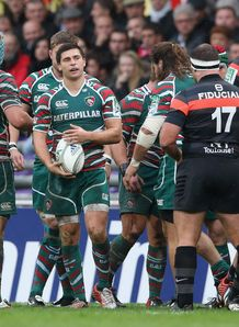 Ben Youngs Leicester scrumhalf v Toulouse