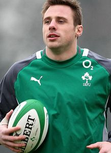 SKY_MOBILE Tommy Bowe - Ireland training