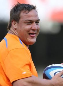 Coenie Oosthuizen Cheetahs training 2012