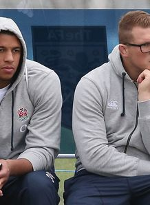 Courtney Lawes Dylan Hartley