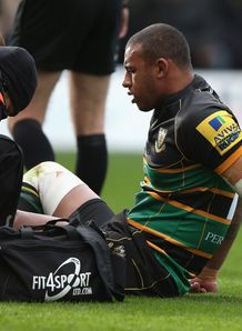 Courtney Lawes Northampton 2012