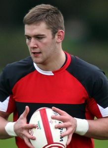 Dan Lydiate Wales training session 2012