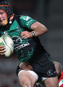Dave McSharry Connacht