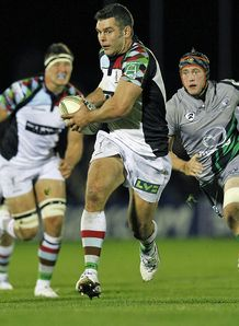 Nick Easter Connacht v Harlequins Heineken Cup
