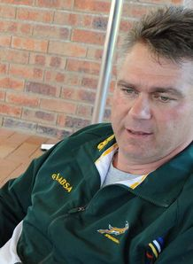 Heyneke Meyer during the Springboks interview