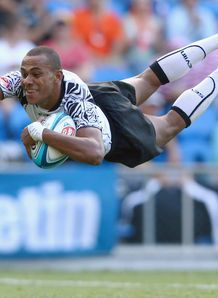 Ilai Tinai for Fiji at Gold Coast Sevens