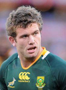 Jaco Taute Springbok debut