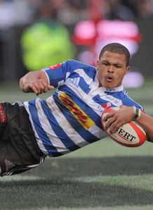 Jaun De jongh try currie cup final 2012