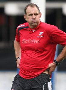 John Plumtree exhaling