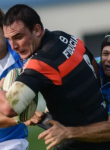 Louis Picamoles with ball Toulouse v Treviso Heineken Cup