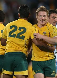 Michael Hooper Wallabies v Pumas RC 2012