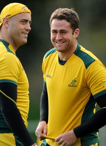 Nathan Sharpe and James Horwill Aus 2011