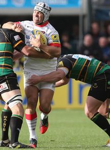 Northampton v Saracens action 2012