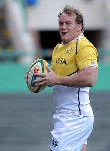 Pat Cilliers at Springbok training