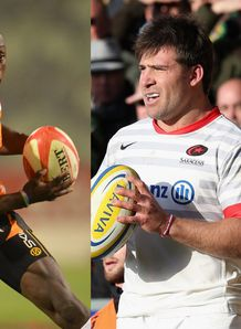 Raymond Rhule split with Schalk Brits