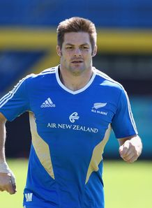 Richie McCaw NZ captain RC 2012
