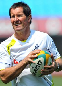 Robbie Deans Aus training RC 2012
