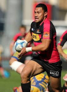 Robbie Fruean in ITM Cup action for Canterbury