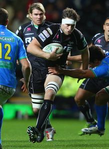 Ryan Jones Ospreys v Treviso Heineken Cup