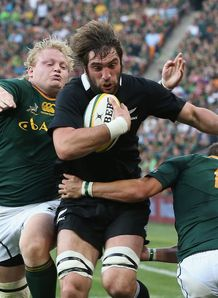 Sam Whitelock scores South Africa New Zealand 2012