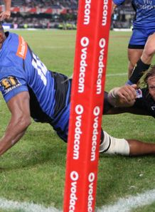 Samu Wara scoring for Western Force