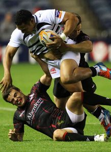 Sinoti Sinoti in action for Zebre