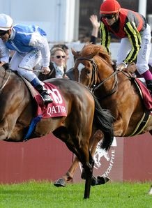 Solemia sinks Orfevre's Arc dream