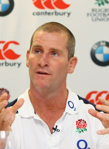 Stuart Lancaster talking tactics