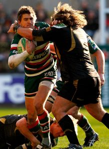 Tigers fly half Toby Flood v Ospreys