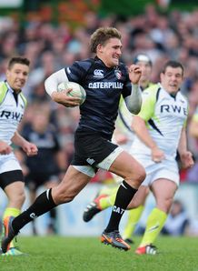 Toby Flood try Ospreys