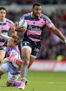 Waisea Nayacalevu Stade Francais v London Welsh