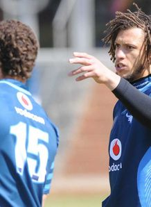 Zane Kirchner Blue Bulls training 2012
