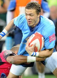 Bjorn Basson blue bulls
