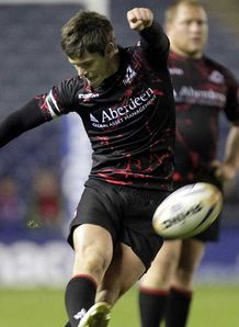 Scarlets beat Edinburgh 29-28 in the RaboDirect PRO12