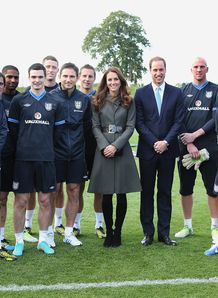 England's national football centre at St George's Park opened by the Duke and Duchess of Cambridge