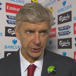 Wenger: Happy with the win