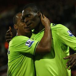 Christian Benteke: Happy at Villa, says Lambert