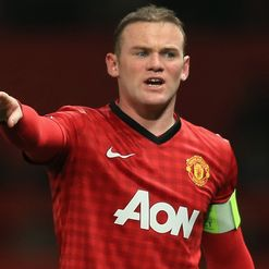 Rooney: Ankle on ice