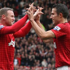 Van Persie: Fit, but Rooney doubtful