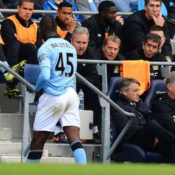 Balotelli: Taking his punishment