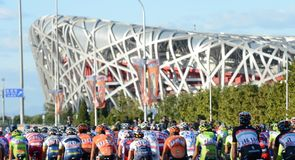 Stage one saw the peloton turning laps around the Olympic Park and the famous Bird's Nest