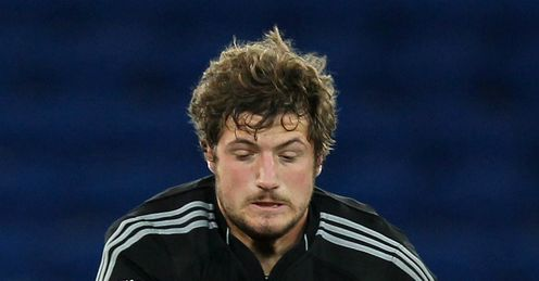 Filippo Ferrarini Aironi v Cardiff Blues RaboDirect Pro12 Cardiff City Stadium