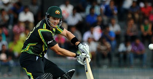 Shane Watson Australia v Pakistan World Twenty20 Super Eight RPS Colombo