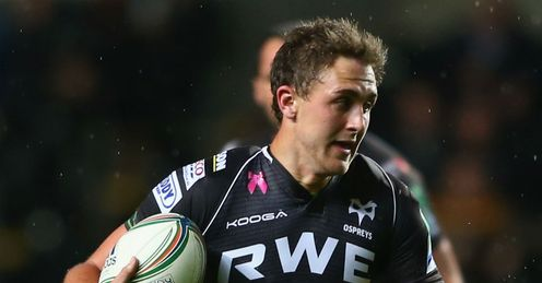 Ashley Beck Ospreys v Treviso Heineken Cup