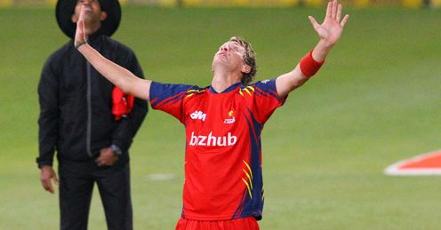 Christopher Morris Highveld Lions v Delhi Daredevils Champions League T20