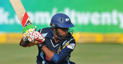Adil Rashid Yorkshire v UVA Next Twenty20 Champions League