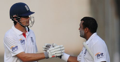 Alastair Cook Samit Patel India A v England